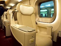 グランクラスの座席(シート)